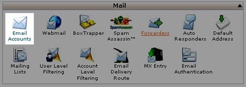 E-mail fiók létrehozása cPanel-es tárhelyen