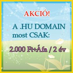 .hu-s domain-regisztráció akció