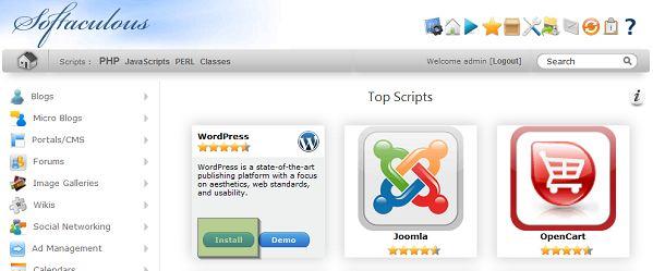 WordPress telepítés lépései